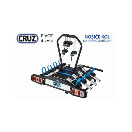 Nosič kol Cruz Pivot - 4 kola, na tažné zařízení v Nosiče kol na tažné zařízení