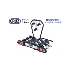 Nosič kol Cruz Pivot - 3 kola, na tažné zařízení Nosiče kol na tažné zařízení
