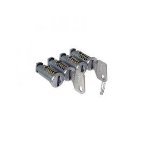 Sada zámků CRUZ 4ks Zámky a klíče k nosičům