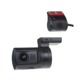 """DVRB24DUAL DUAL miniaturní FULL HD kamera, GPS + 1,5"""" LCD, HDR, dálkové ovl, ČESKÉ MENU Dvoukanálové záznamové kamery"""