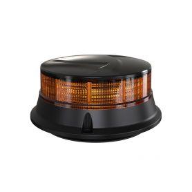 WL313M LED maják, 12-24V, 30x0,7W oranžový, magnet, ECE R65 R10 LED magnetické