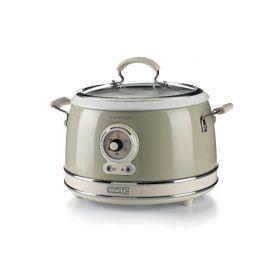 Ariete Vintage Multif. hrnec a rýžovar, krémový, 2904/03 Pečení, vaření, grilování