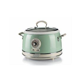 Ariete Vintage Multif. hrnec a rýžovar, zelený, 2904/04 Pečení, vaření, grilování