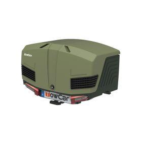 TowCar TowBox V3 zelený, uzavřený, na tažné zařízení Přepravní boxy na tažné zařízení