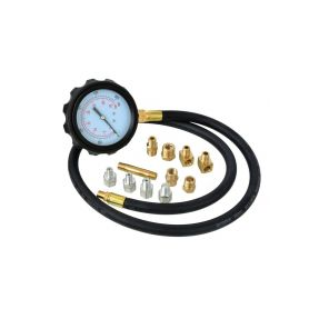 GEKO G02506 Tester tlaku oleje, profi kufr, sada 12ks Testery