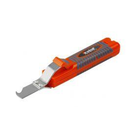 EXTOL-PREMIUM EX8831100 Nůž na odizolování kabelů, 8-28mm, délka nože 170mm, na kabely O 8-28mm Pracovní nože