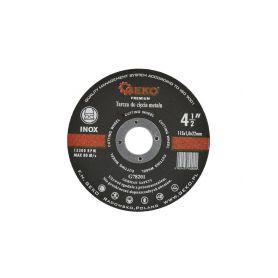 GEKO G78201 Kotouč řezný na kov, 115x1,0mm Řezné kotouče