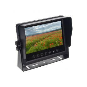 """SV73WTPAHD AHD Monitor 7"""" prachotěsný/voděodolný/nárazu odolný, 3x4PIN vstup 4PIN monitory a sety"""