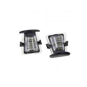 RZJE01 LED osvětlení SPZ do vozu Jeep Wrangler Pro osvětlení SPZ