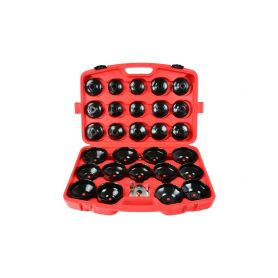 GEKO G10401 Sada klíčů na olejové filtry, 30ks Klíče