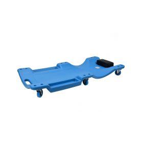 GEKO Plastové lehátko, 99,5x46,7x10,5cm, 6 kol GEKO