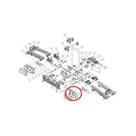 Rámeček světelné rampy Oris Traveller/Eufab Premium - pravý Příslušenství nosiče kol