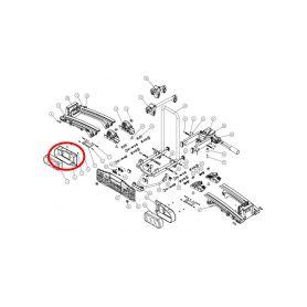 Rámeček světelné rampy Oris Traveller/Eufab Premium - levý Příslušenství nosiče kol