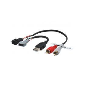 248878 Adapter pro USB konektor SsangYong Tivoli (15-) USB/AUX kabely