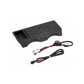 RW-BW01 Qi indukční INBAY nabíječka telefonů BMW X3 2010-2014, 10W - 1
