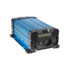 35PSW612DD Sinusový měnič napětí z 12/230V, 600W / displej Sinusové měniče
