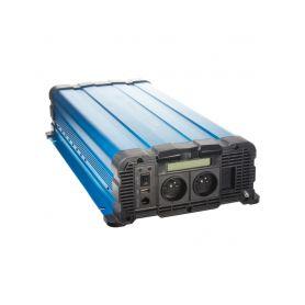 35PSW4012DD Sinusový měnič napětí z 12/230V, 4000W / displej Sinusové měniče