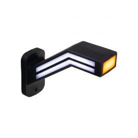 TRL191L Poziční LED (tykadlo) gumové levé - červeno/bílo/oranžové, 12-24V,ECE Boční obrysová světl + tykadla