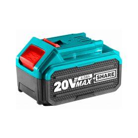 TOTAL-TOOLS TFBLI2002E Baterie akumulátorová 20V Li-ion, 4000mAh, industrial Nabíječky 12V