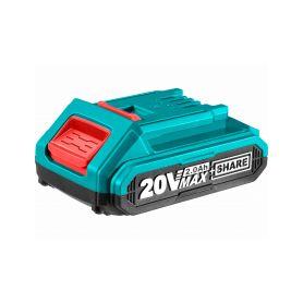 TOTAL-TOOLS TFBLI2001E Baterie akumulátorová, 20V Li-ion, 2000mAh, industrial Nabíječky 12V