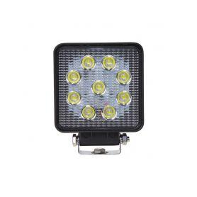 WL-809R23 LED světlo hranaté, 9x3W, ECE R10/R23 Pracovní světla a rampy