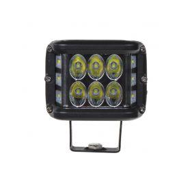 WL-810 LED světlo hranaté, 6x5W + 6x3W , ECE R10, 180° Pracovní světla a rampy