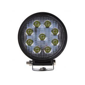 WL-2760B LED světlo kulaté, 9x3W, ECE R10 Pracovní světla a rampy