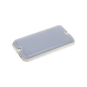 WL-B924 LED světlo nástěnné, bílé, 24x0,2W, ECE R10 Pro interiér, kufr, dveře
