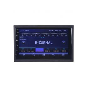 "80824AA 2DIN autorádio s 7"" LCD, Android 10, WI-FI, GPS, Mirror link, Bluetooth, 2x USB Autorádia s Bluetooth"