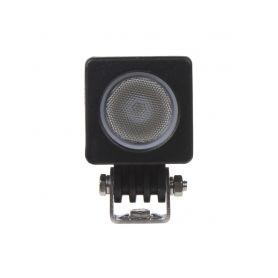 WL-812 LED světlo hranaté (i na motocykl), 1x 10W, 50x50x60mm, ECE R10 Pracovní světla a rampy
