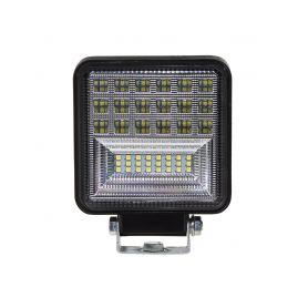 WL-831 LED světlo hranaté, 42x3W, ECE R10 Pracovní světla a rampy