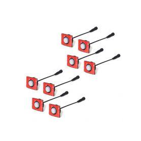 HID - Pracovní světla  1-wl-808 LED světlo 10-30V, 14x3W, R10, rozptýlený paprsek