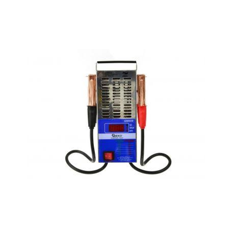 GEKO Tester autobaterie zátěžový LED GEKO