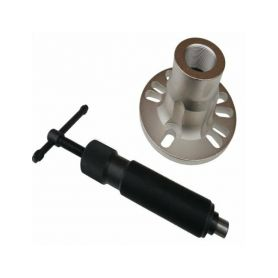 QUATROS Stahovák nábojů kol, hydraulický, maximální tlak 10 t QUATROS