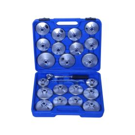 QUATROS Klíče na olejové filtry, sada 23 kusů QUATROS