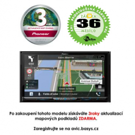 Pioneer AVIC-Z920DAB - 3 roky záruka Pevné GPS navigace