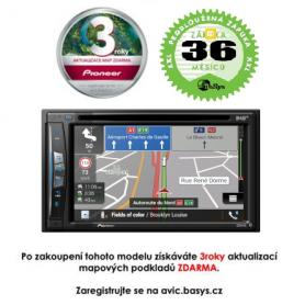 PIONEER AVIC-Z720DAB - 3 roky záruka Pevné GPS navigace