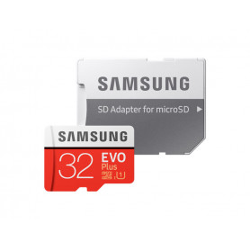 Samsung Samsung Micro SDHC 32GB EVO Plus + SD adaptér