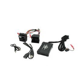 55USBBM007 Connects2 - ovládání USB zařízení OEM rádiem BMWnew/AUX vstup USB adaptéry Connects2