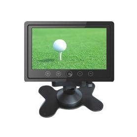 "IC-706T LCD monitor 7"" do opěrky s IR vysílačem černý Monitory na opěrky"