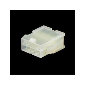 25M08M Molex 8-zásuvka, samec Plastové zásuvky