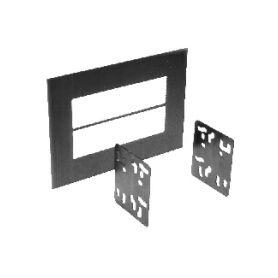 11067M METRA univerzální 2DIN plast pro uchycení autorádia UNI rámečky a přihrádky
