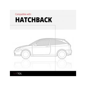 SIXTOL Vana do kufru gumová Audi A3 Sportback (8V) (12-) SIXTOL 4-hbc09060
