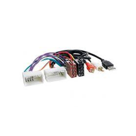 21535 Konektor ISO Hyundai IX35 2010-, Kia Sportage 10- s USB a AUX připojením OEM/ISO adaptéry