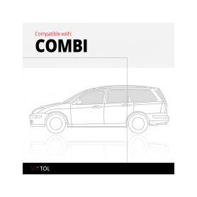 Audi A4 SIXTOL 4-hbc98855 Gumové koberce Audi A4 Limousine (B9) (05/2015-) SIXTOL