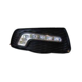 x LED světla pro denní svícení Mercedes C W204 2007-10, ECE