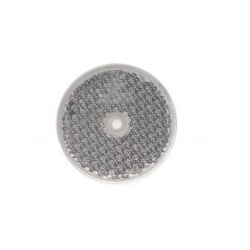 TRL52 Přední (bílý) odrazový element - kolečko pr.60mm Reflexní odrazky