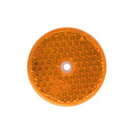 TRL52OR Boční (oranžový) odrazový element - kolečko pr.60mm Reflexní odrazky