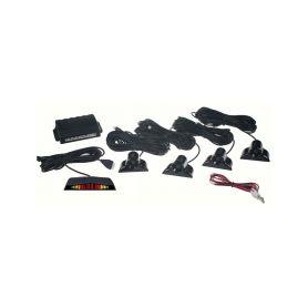 Parkovací systém 4 senzorový - LED displej, vnější senzory 1-ps4led-off
