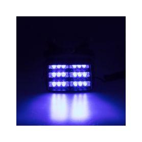 x PREDATOR LED vnitřní, 18x LED, 12V, modrý, 125mm